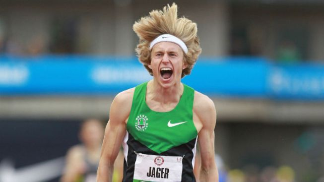 Hair Yes! Evan Jager Keeping Long Locks for Olympics