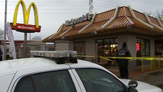 Five Being Questioned in McDonald's Shooting