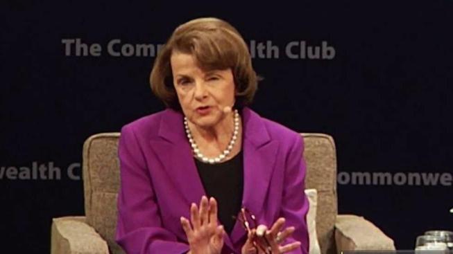 Sen. Dianne Feinstein won't say she supports impeaching Trump
