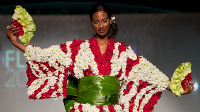 Flower Power Takes Over the Runway