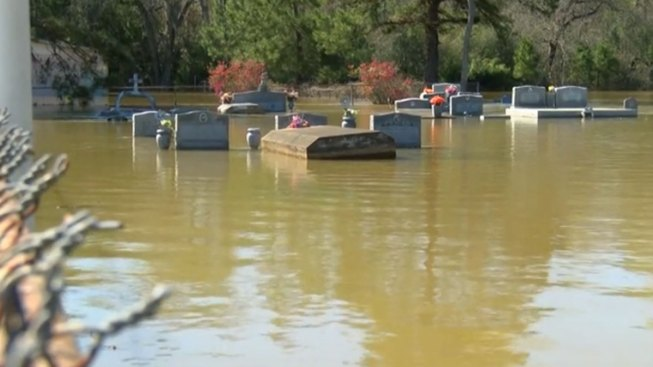 flooding brings caskets to surface in louisiana nbc chicago