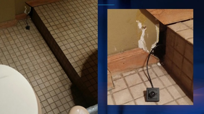 Hidden Camera Found In Funeral Home Bathroom