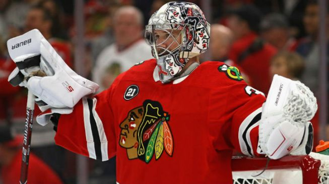 Woeful 2nd Period Lands Blackhawks in History Books