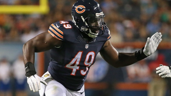 Sam Acho Listed as Starting Linebacker on New Bears Depth Chart