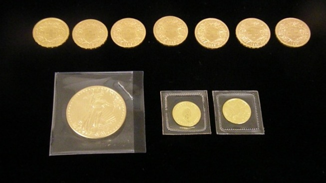 Salvation Army Finds Rare Gold Coin Donations