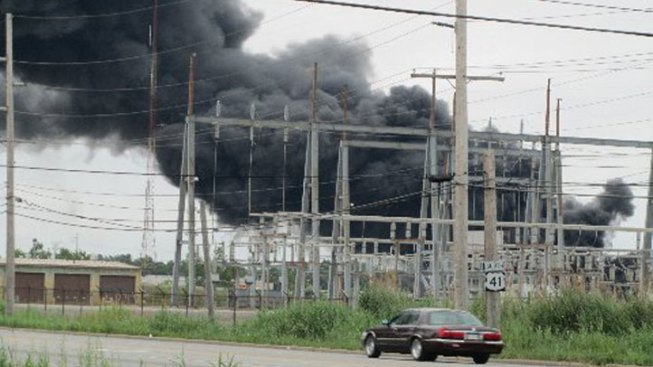 No Serious Injuries in Massive NW Indiana Fire