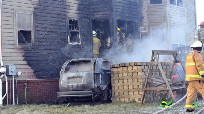 Fire Chief Rams Van Into Home Following Domestic Incident