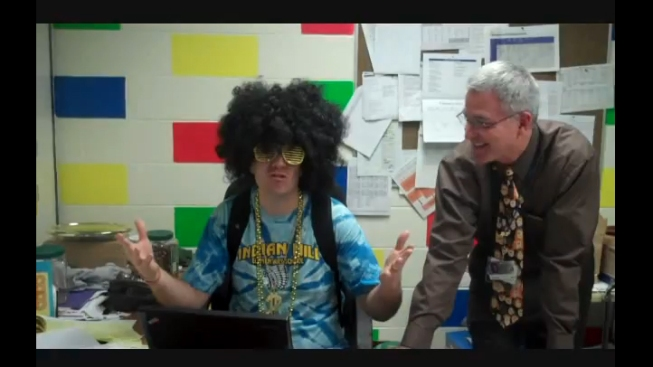 Teachers Create Parody Video for Students Taking ISATs