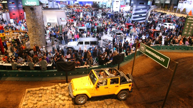 Indoor Tracks, Test Drives Return To Auto Show