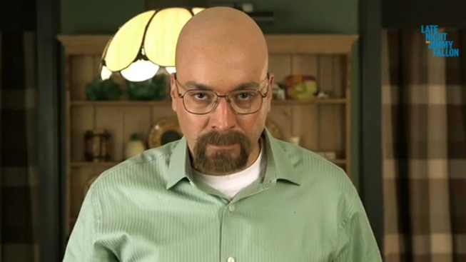 "Jimmy Fallon Premieres ""Breaking Bad"" Parody"