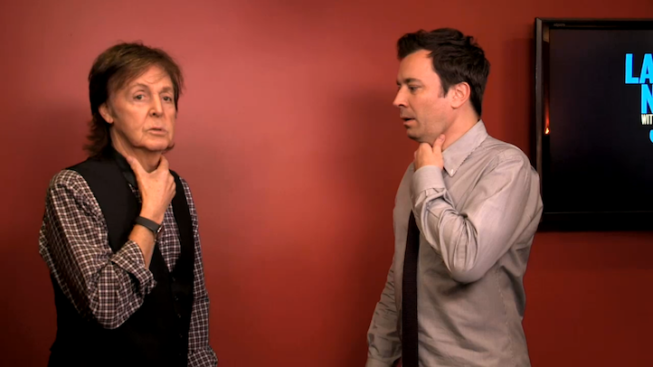 Paul McCartney Plays with Accents on Fallon