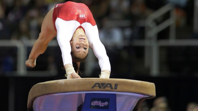 Good Day for USA Gymnasts, Except Wieber