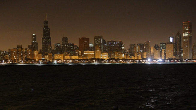 Lights Out in Chicago for Earth Hour