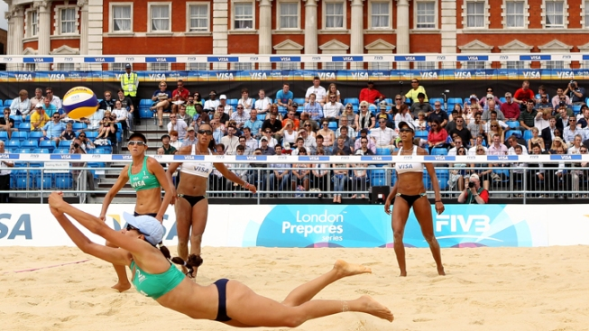 Shorts Approved for Women's Volleyball at London Olympics