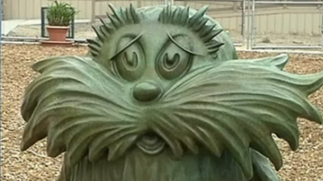 Stolen Lorax Statue from Dr. Seuss' Home Found Hidden in Canyon