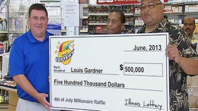 Newlywed Wins $500K in Lottery -- on Wife's Birthday
