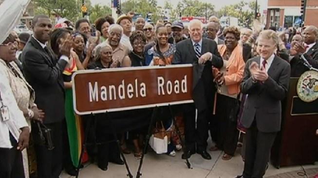 Chicago Road Named After Nelson Mandela