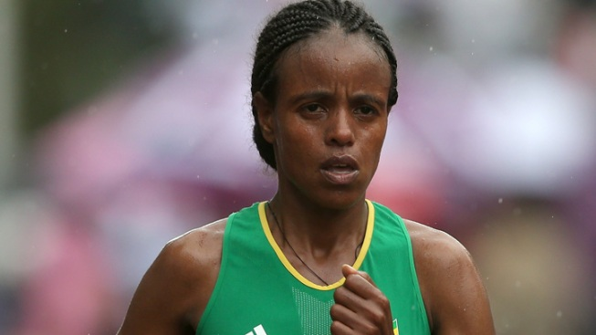 2014 Elite Female Runners: Mare Dibaba