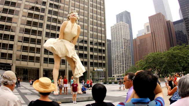 Chicago's Marilyn Tops List of Bad Public Art
