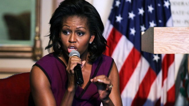 Michelle Obama Attends Another Chicago Funeral
