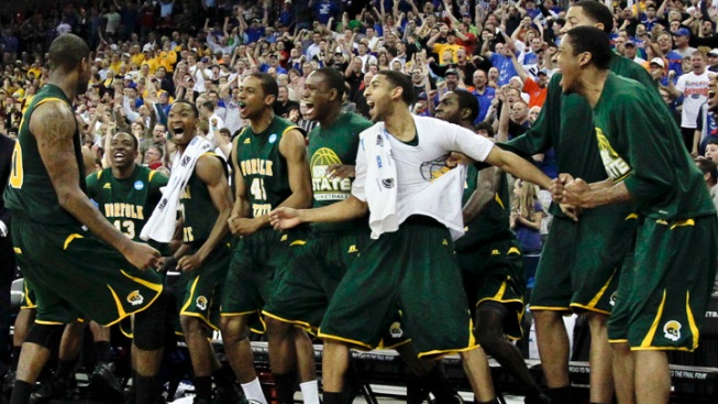 Norfolk State, Lehigh Lead Memorable Day of Upsets