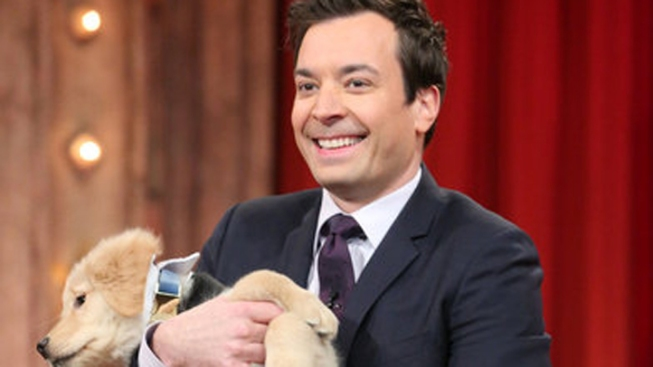 "Puppies Pick Oscars' Best Picture Winner on ""Late Night"""
