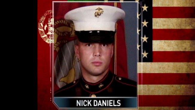 Fallen Marine Comes Home