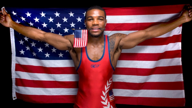 Burroughs Seeing Gold at London Games