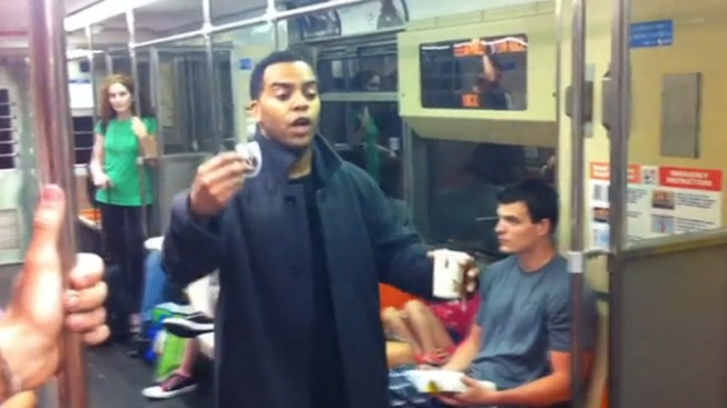 "Caught on Cam: ""Panhandler"" Pranks SEPTA Passengers"
