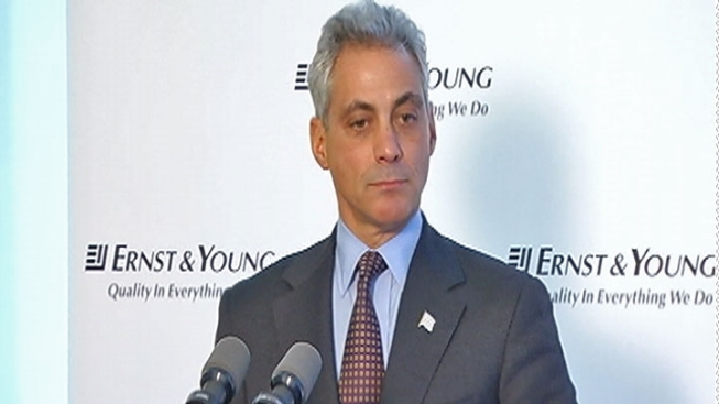Mayor ernst young announce 500 new jobs nbc chicago - Ernst young chicago office ...