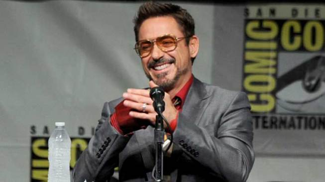 """Iron Man 3"" Production on Hold Due to Injured Robert Downey Jr."