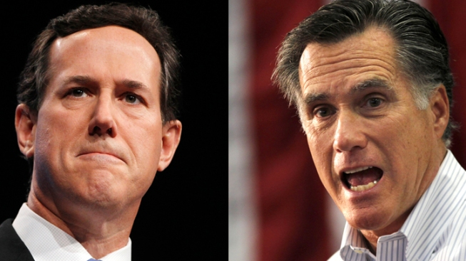 Santorum, Romney Focus on Illinois