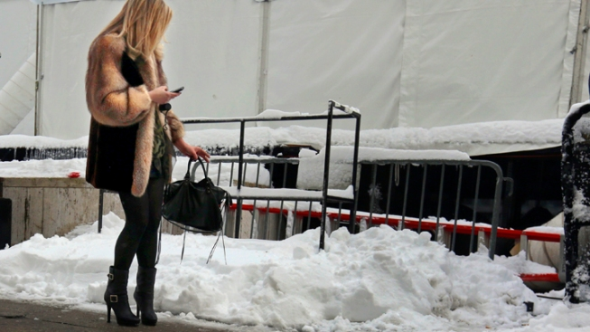 Uggs? Ugh. NY Fall Fashion Week Battles the Elements