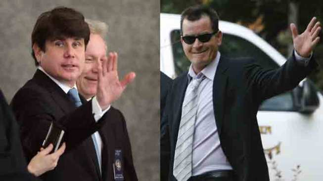 Blagojevich More Reviled than Charlie Sheen
