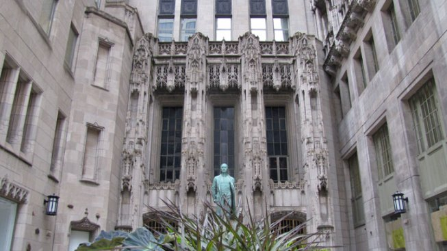 Tribune Tower is For Sale, Publication Says
