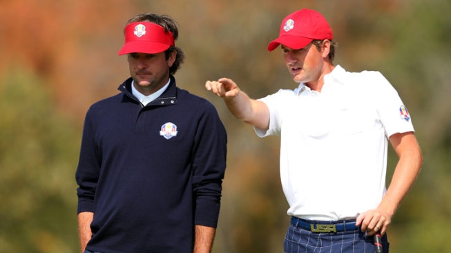 Watson and Simpson Lead U.S. Charge at Ryder Cup
