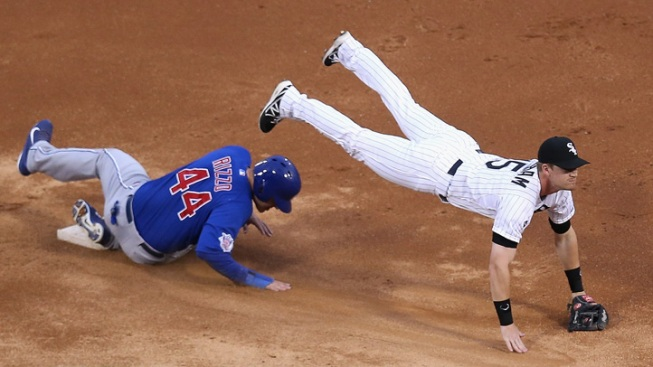 Cubs End Losing Skid With Victory Over Sox