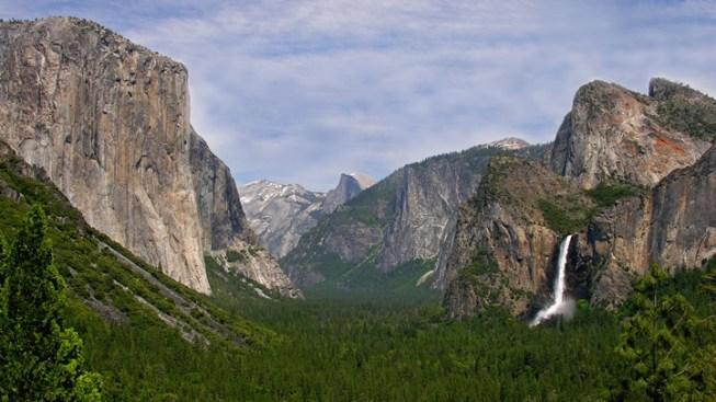 Little Girl Returns Two Sticks to Yosemite