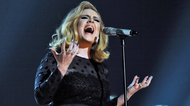 "Adele Records James Bond Theme Song for ""Skyfall"""
