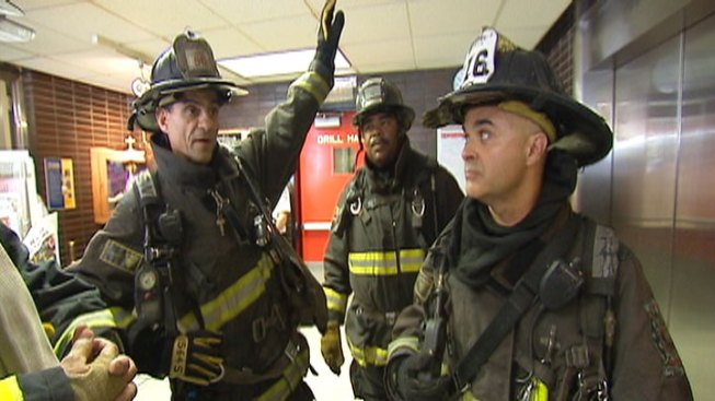 Aldermen Become Firefighters for a Day