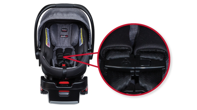 Choking hazard prompts car seat recall