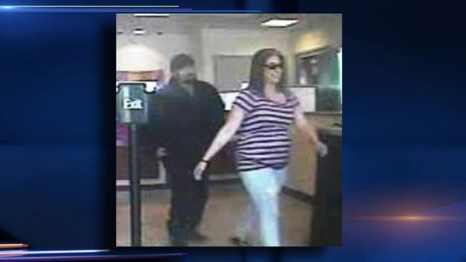 Cameras Catch Woman Smiling After She Robs Bank