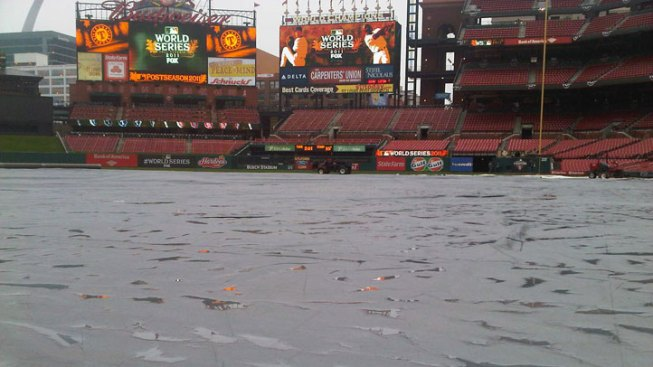 Rain Delay: Game 6 of World Series Postponed
