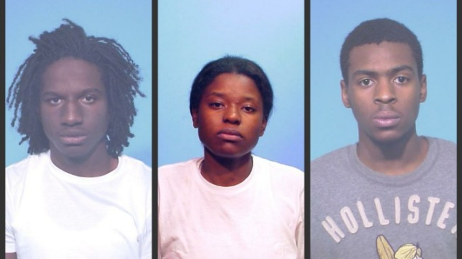 3 Charged in String of South Loop Robberies