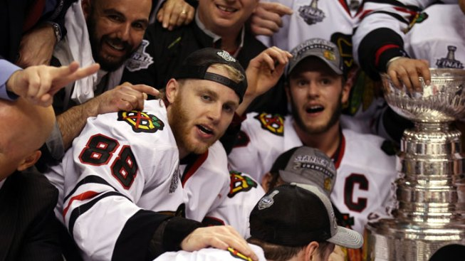 Kane, Toews Top NHL Jersey Sales in October