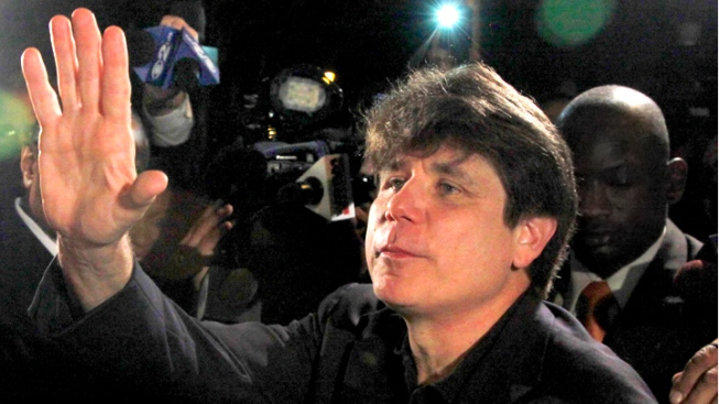Former Ill. Gov. Blagojevich Appeals Corruption Conviction, Sentence