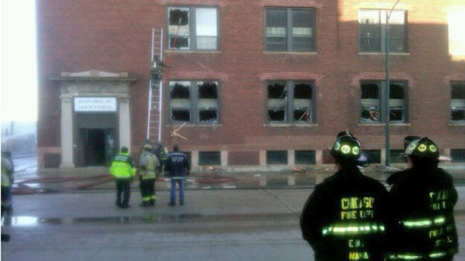 No Injuries in Saturday Warehouse Fire