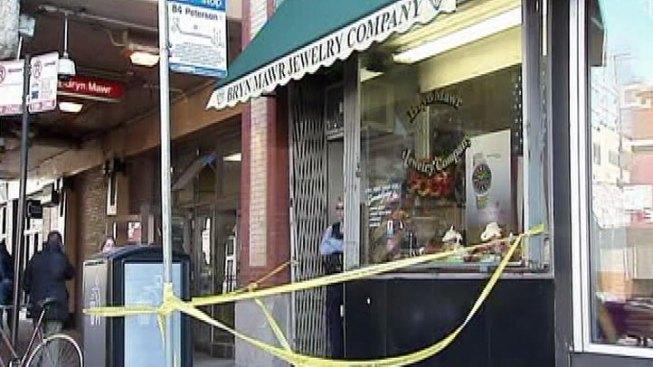 Cops Investigate Edgewater Jewelry Store Robbery