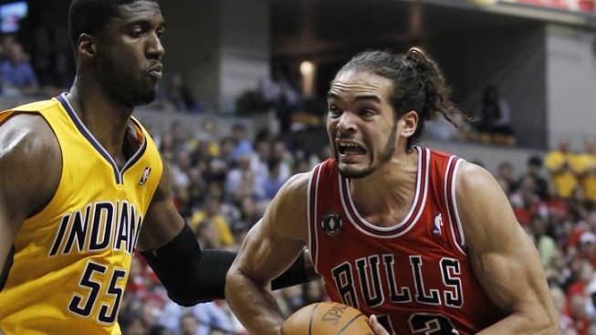 No Sweep; Bulls Fall to Pacers in Game 4
