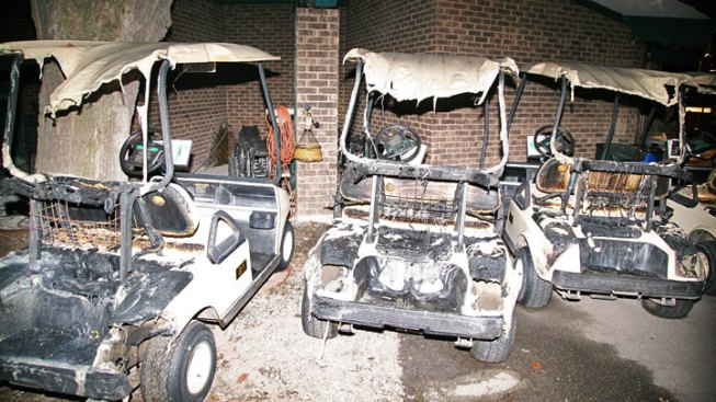 Golf Carts Torched in Morton Grove